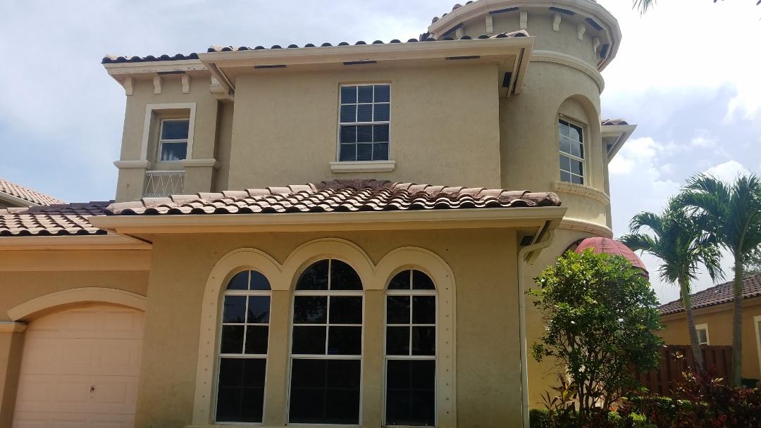 Miramar, FL - Tile roof repair estimate in Miramar Florida
