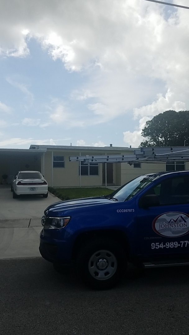 West Park, FL - GAF mineral cap sheet flat roof replacement estimate by Earl Johnston Roofing