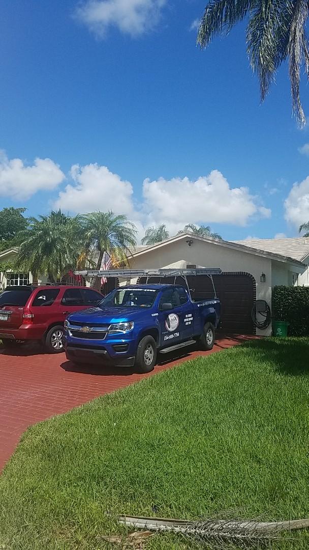 Coral Springs, FL - Eagle Malibu tile estimate by Earl Johnston Roofing Company