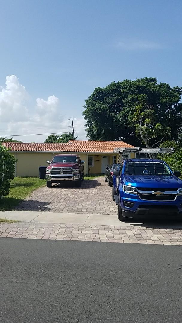 North Miami Beach, FL - Eagle Malibu tile reroof estimate by Earl Johnston Roofing Company