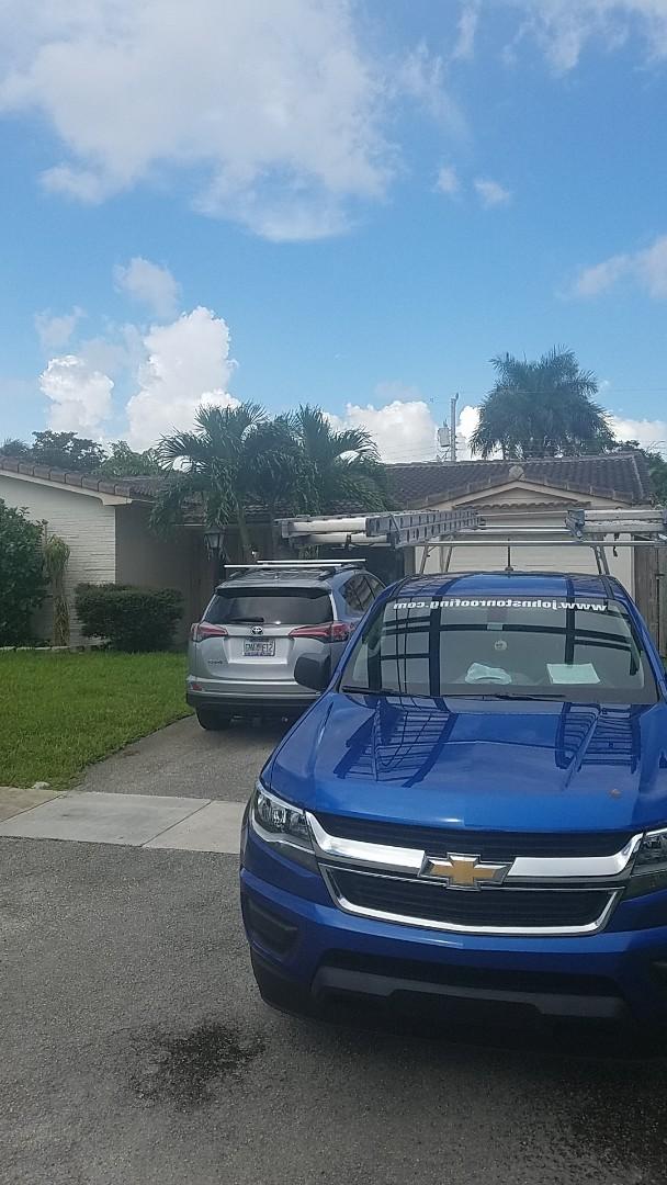 Hollywood, FL - Eagle Malibu tile reroof estimate by Earl Johnston Roofing Company