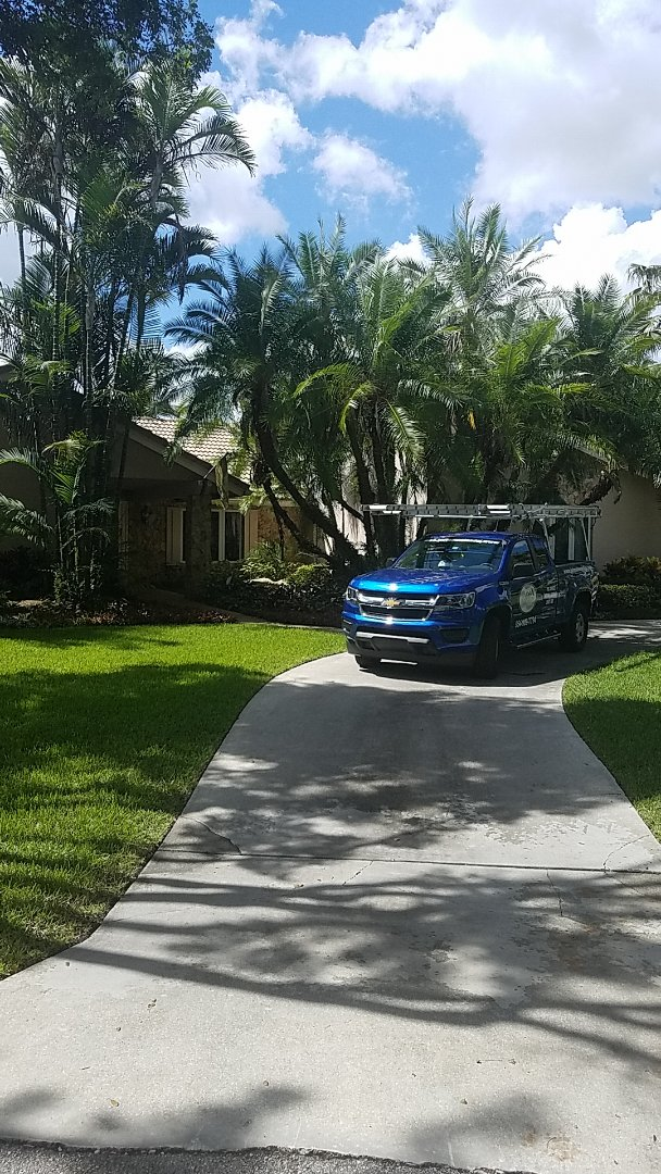 Parkland, FL - GAF mineral cap sheet flat roof replacement estimate by Earl Johnston Roofing Company