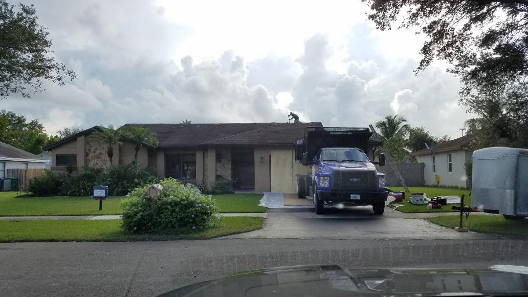 Cooper City, FL - Shingles coming off in Cooper City!