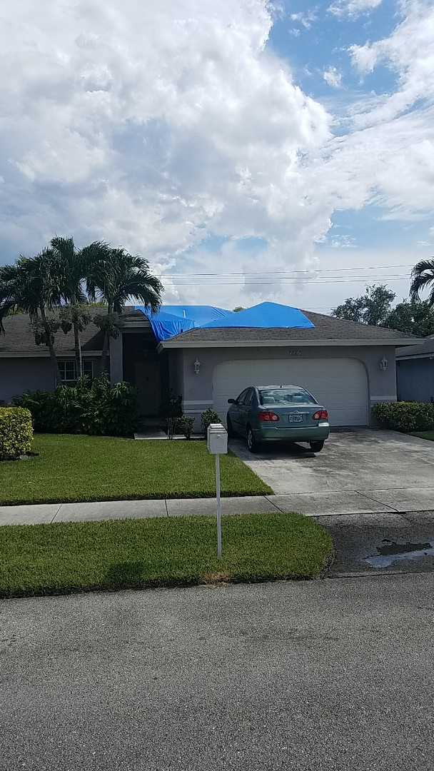 Oakland Park, FL - GAF timberline HD shingles reroof estimate by Earl Johnston Roofing Company