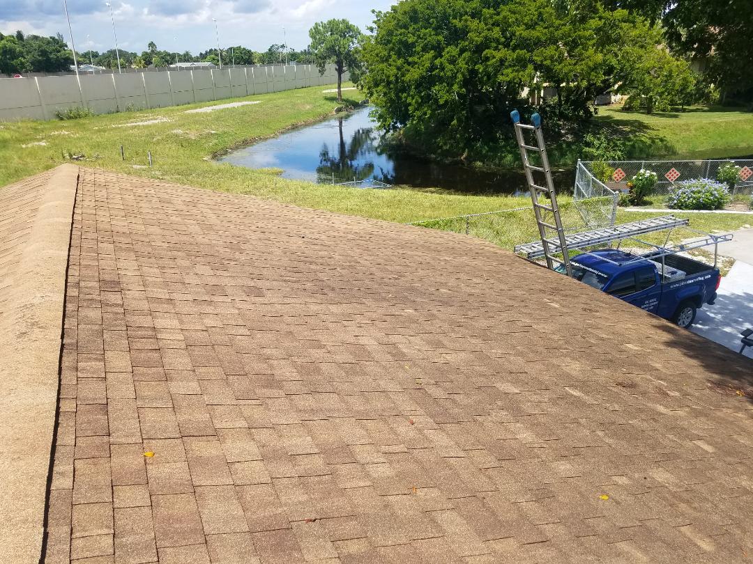Miramar, FL - Shingle and flat re-roof estimate in MIRAMAR,FL