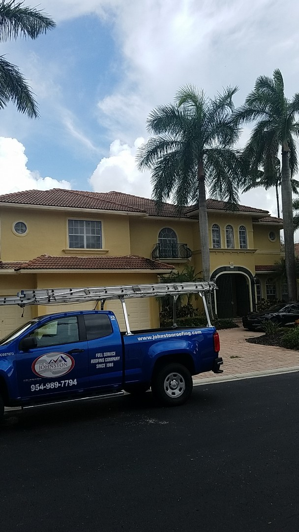 Coral Springs, FL - Boral Estate tiles reroof estimate by Earl Johnston Roofing Company
