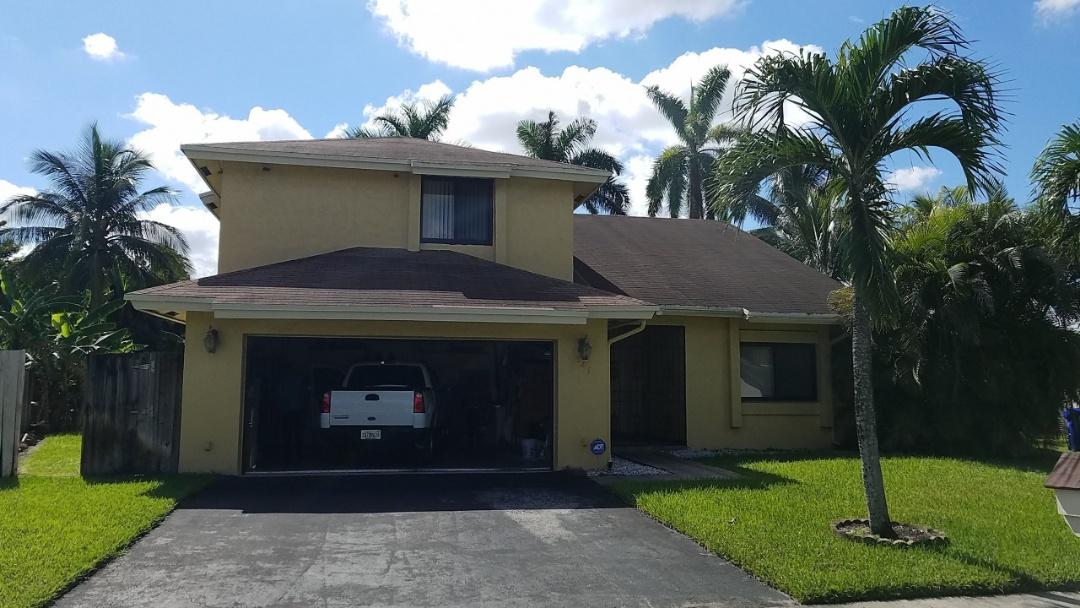 GAF TIMBERLINE HD SHINGLE RE-ROOF ESTIMATE IN PEMBROKE PINES, FL