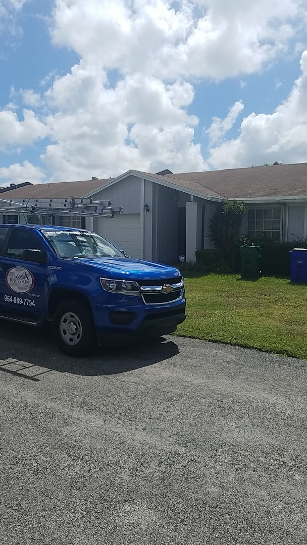 Margate, FL - Shingle roof repair estimate by Earl Johnston Roofing Company