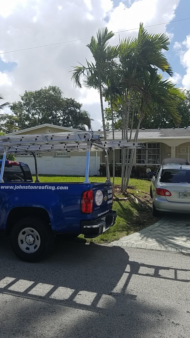 Hallandale Beach, FL - GAF timberline HD shingles reroof estimate by Earl Johnston Roofing Company
