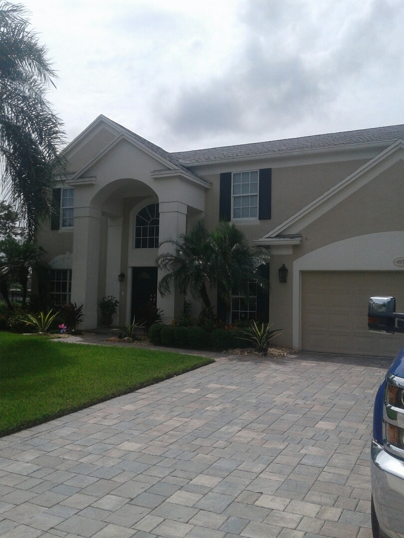 Cooper City, FL - Shingle repair in the city of Cooper City Florida this repair is being done by Earl W Johnston roofing company your repair technicians Tony Regis Mariner