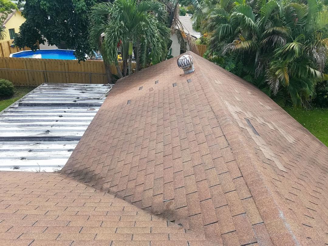 Sunrise, FL - Gaf Timberline HD shingle re-roof estimate in Sunrise, FL