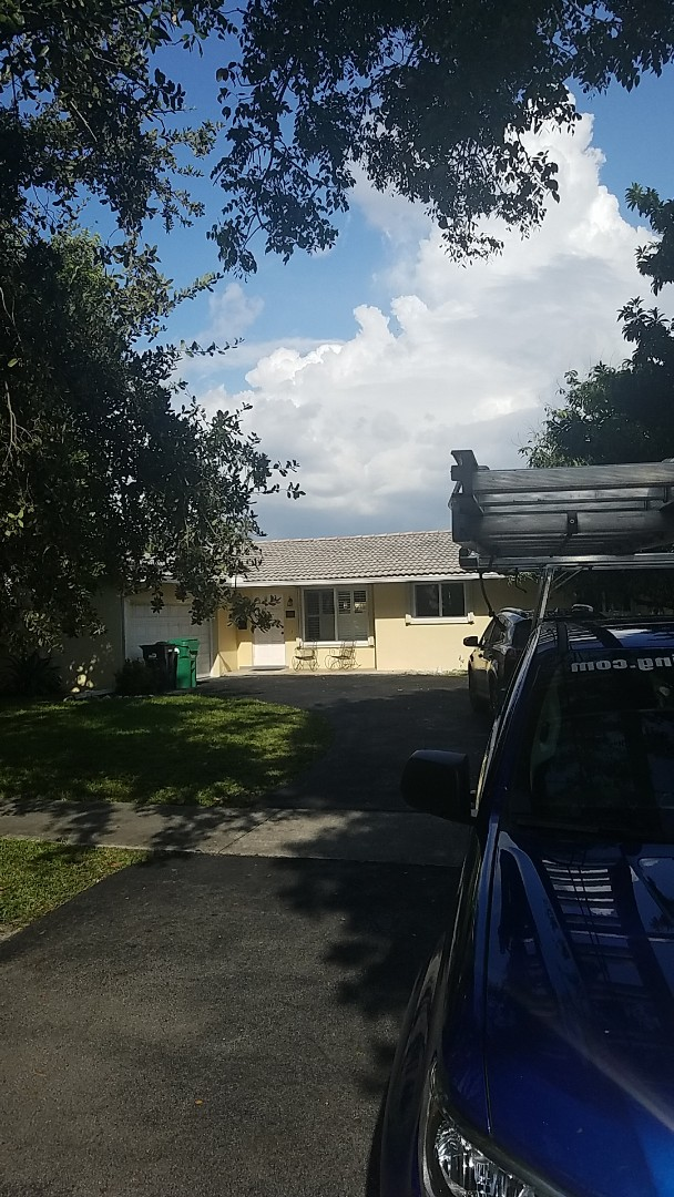 Miami Lakes, FL - Eagle Malibu tile reroof estimate by Earl Johnston Roofing Company