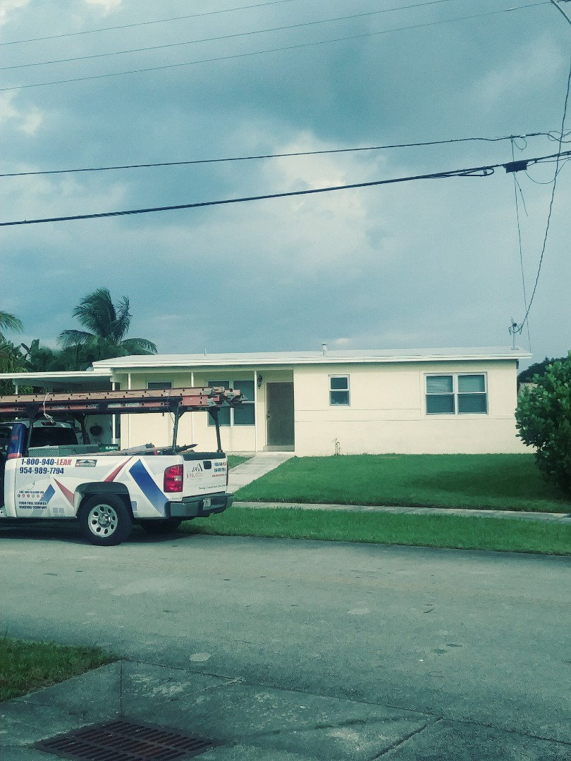 West Park, FL - Finished gaf flat and low slope roof by earl w Johnston roofing llc