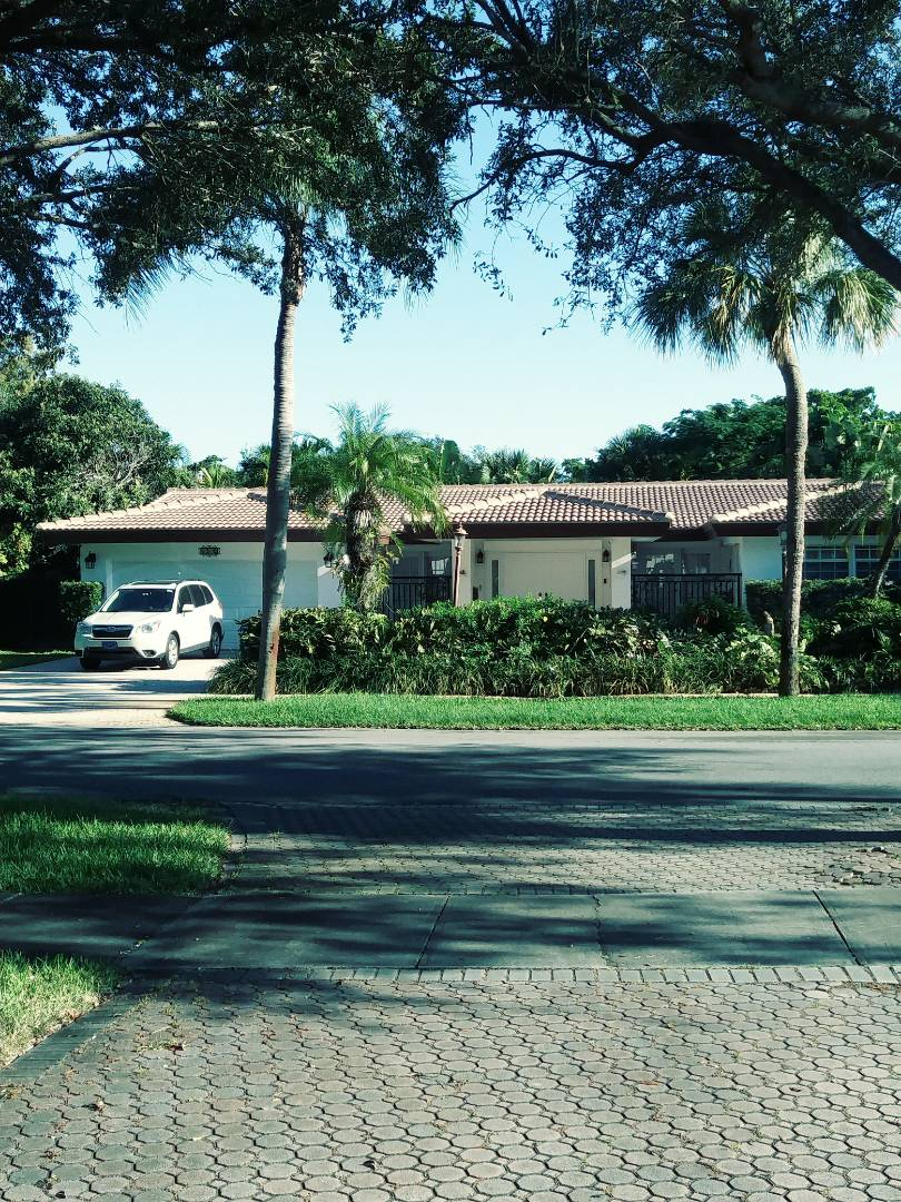 Miami Lakes, FL - Finished eagle roof tile medium profile concrete roof tile and flat roof by earl w Johnston roofing llc
