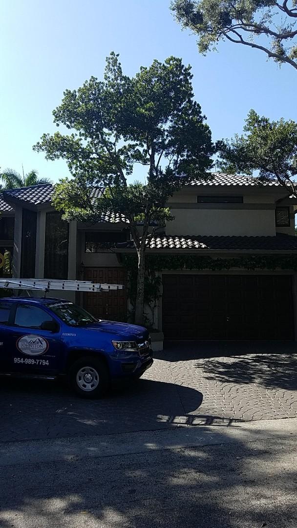 North Miami Beach, FL - Eagle capistrano tiles reroof estimate by Earl Johnston Roofing Company