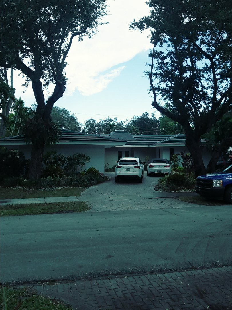 Miami, FL - Finished entegra plantation concrete roof tile by earl w Johnston roofing llc