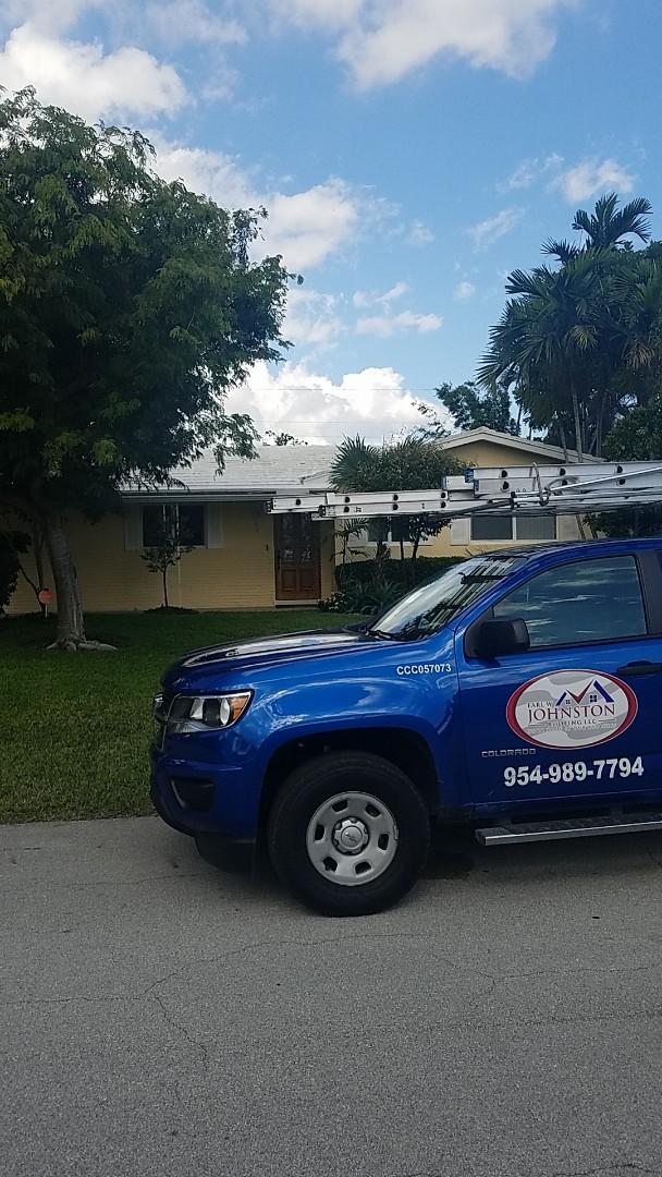 Fort Lauderdale, FL - Eagle Malibu tile reroof estimate by Earl Johnston Roofing Company