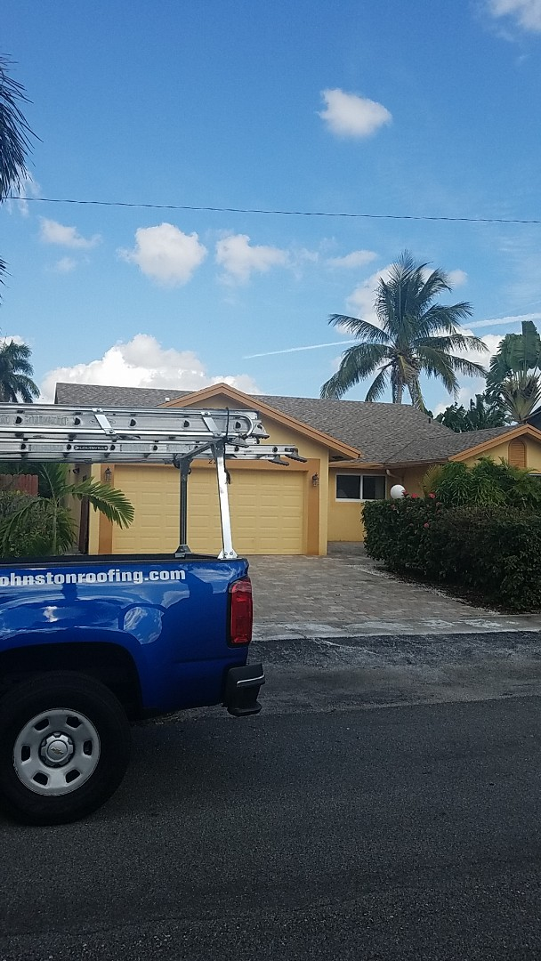 Fort Lauderdale, FL - shingle roof repair estimate by Earl Johnston Roofing Company