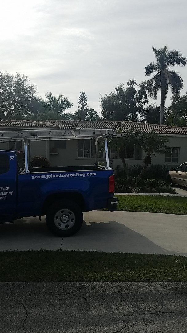 Miami Shores, FL - Tile roof repair estimate by Earl Johnston Roofing Company