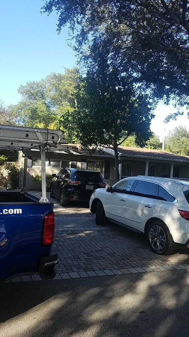 North Miami Beach, FL - GAF timberline HD shingles reroof estimate by Aj from Earl Johnston Roofing Company