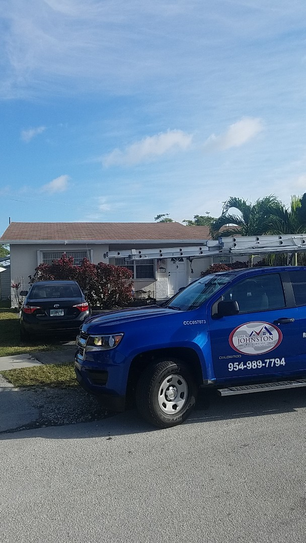North Lauderdale, FL - Shingle roof repair estimate by Aj from Earl Johnston Roofing Company