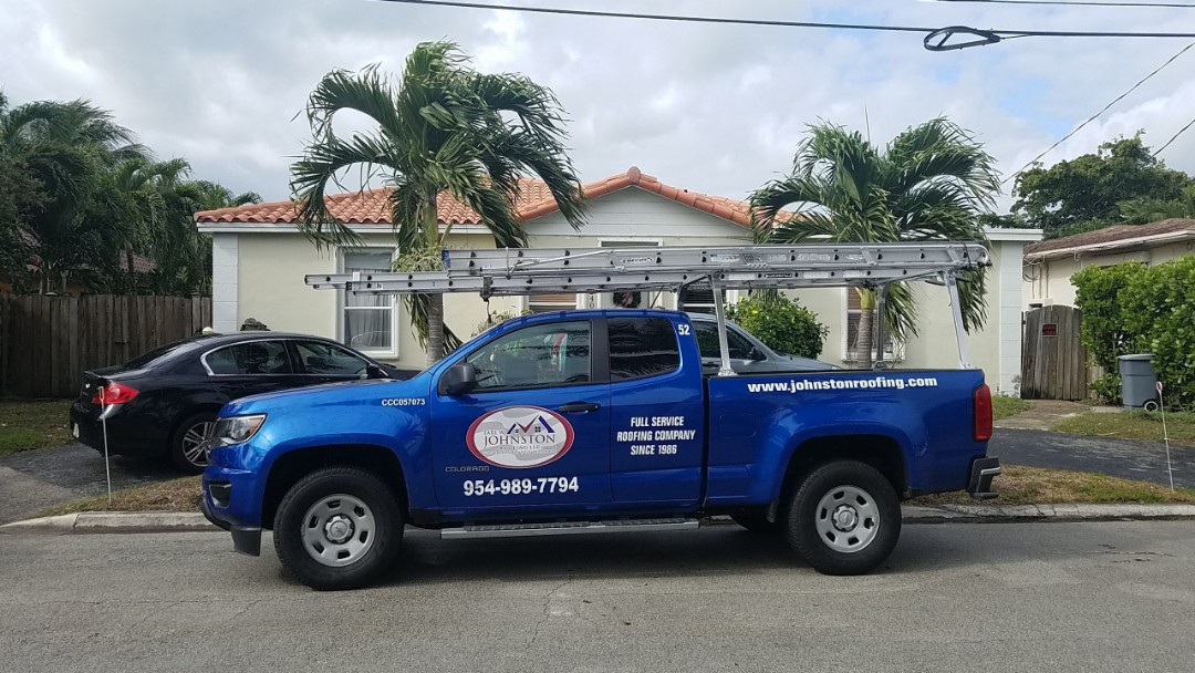 Surfside, FL - Tile roof repair estimate by Earl Johnston Roofing Company