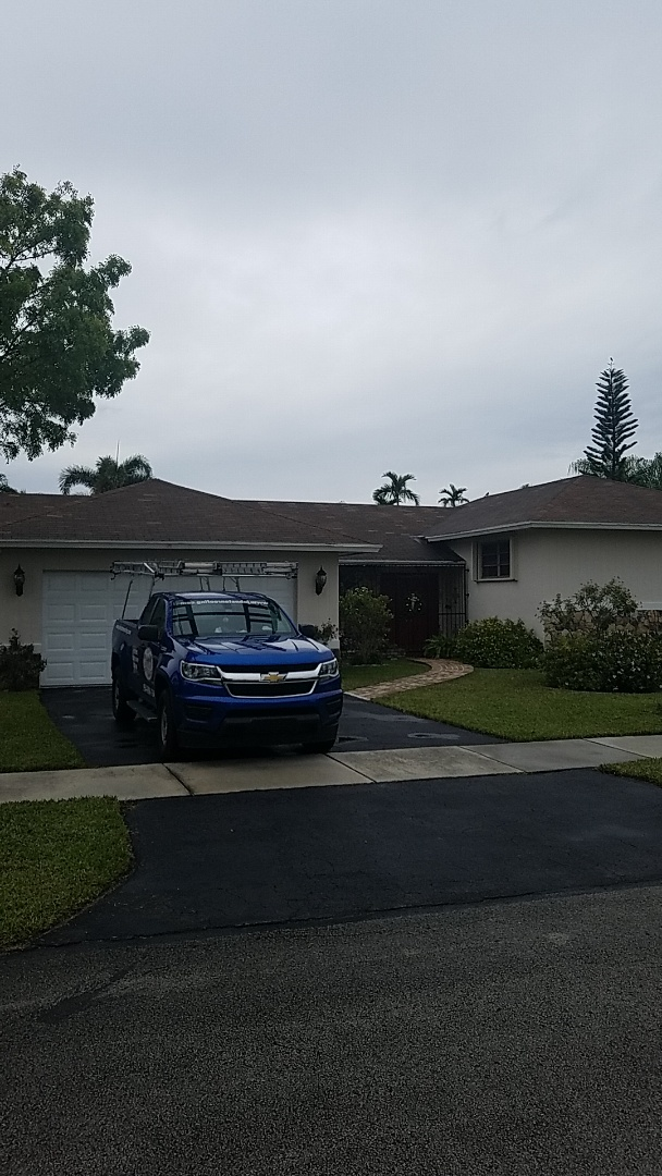 Miami, FL - GAF timberline HD shingles reroof estimate by Earl Johnston Roofing Company.