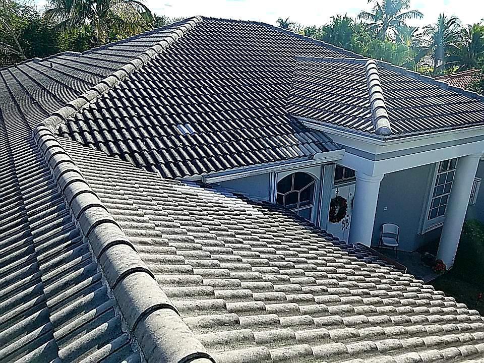 Weston, FL - Tile re-roof estimate in Weston,FL