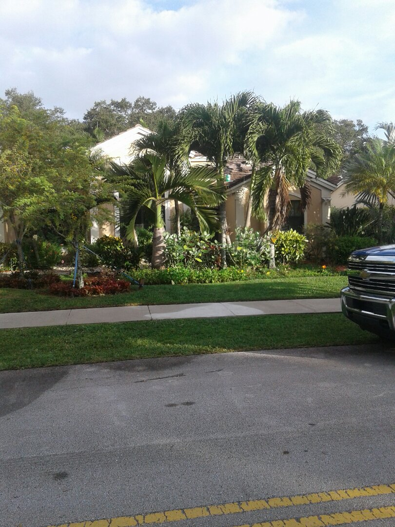 Davie, FL - Tile roof repair in the city of Davie Florida this repair is being done by Earl W. Johnston roofing company Glenn Tony Israel and Alex are you repair technicians