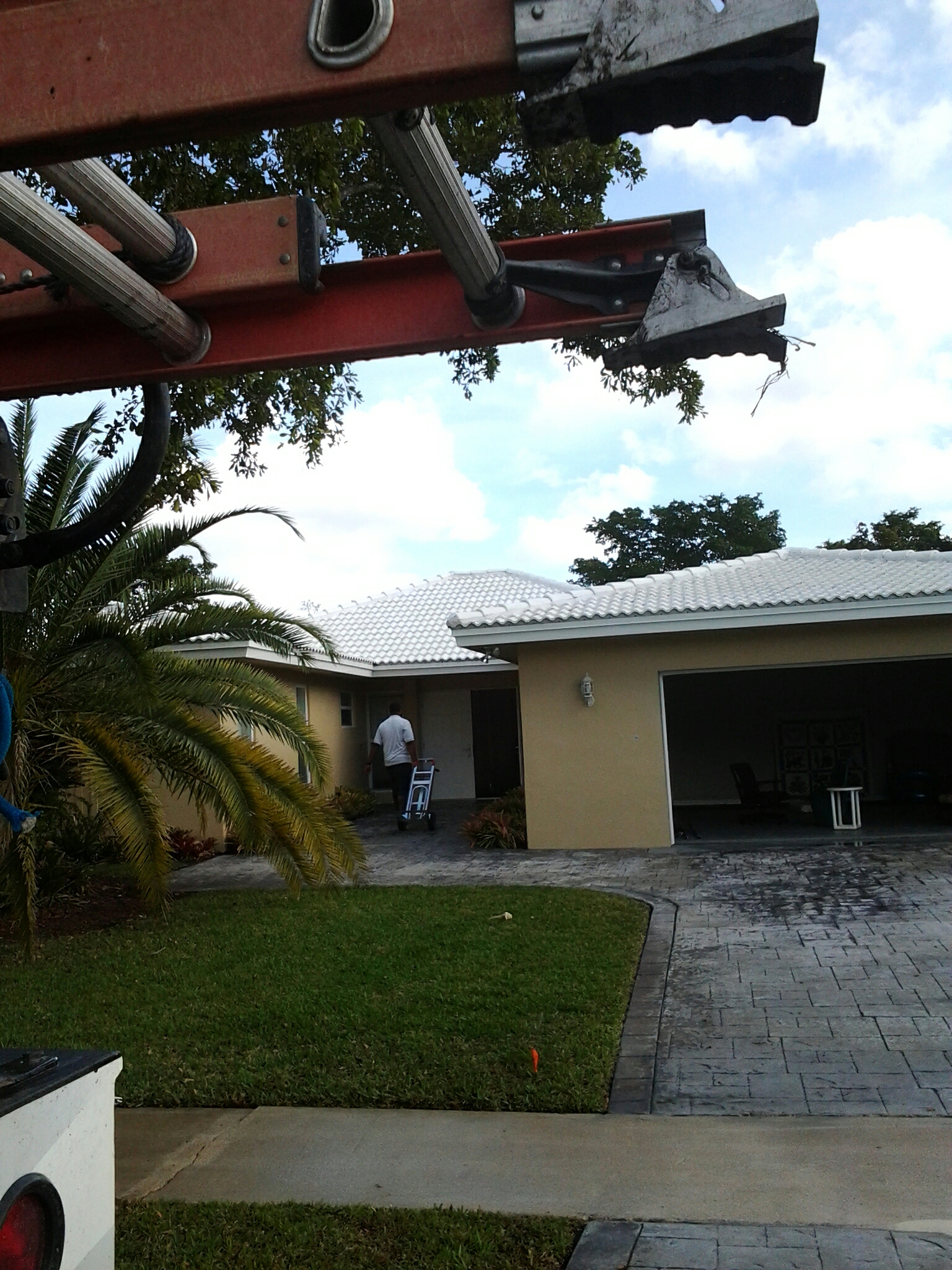 Plantation, FL - Pressure clean roof
