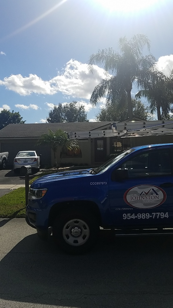 Lauderhill, FL - GAF mineral cap sheet flat roof replacement estimate by Earl Johnston Roofing Company