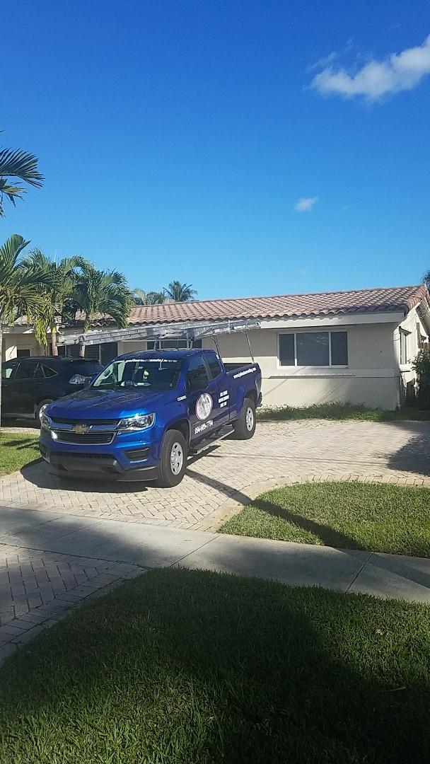 Pompano Beach, FL - Eagle capistrano tiles reroof estimate by Earl Johnston Roofing Company