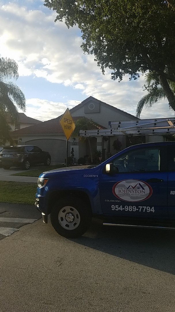 Deerfield Beach, FL - Tile roof replacement estimate by Earl Johnston Roofing Company