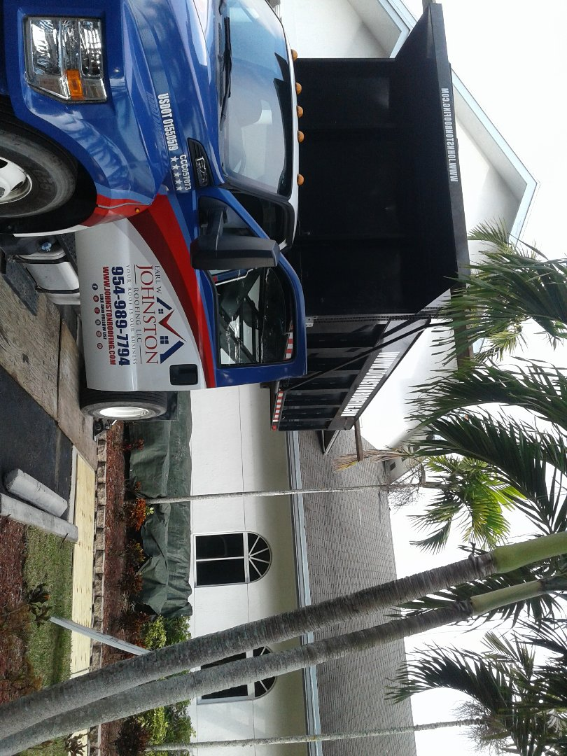 Southwest Ranches, FL - Starting a 74sq shingle reroof in Southwest Ranches, by Earl w Johnston roofing
