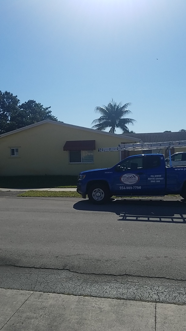 Hollywood, FL - GAF timberline HD shingles reroof replacement estimate by Earl Johnston Roofing Company