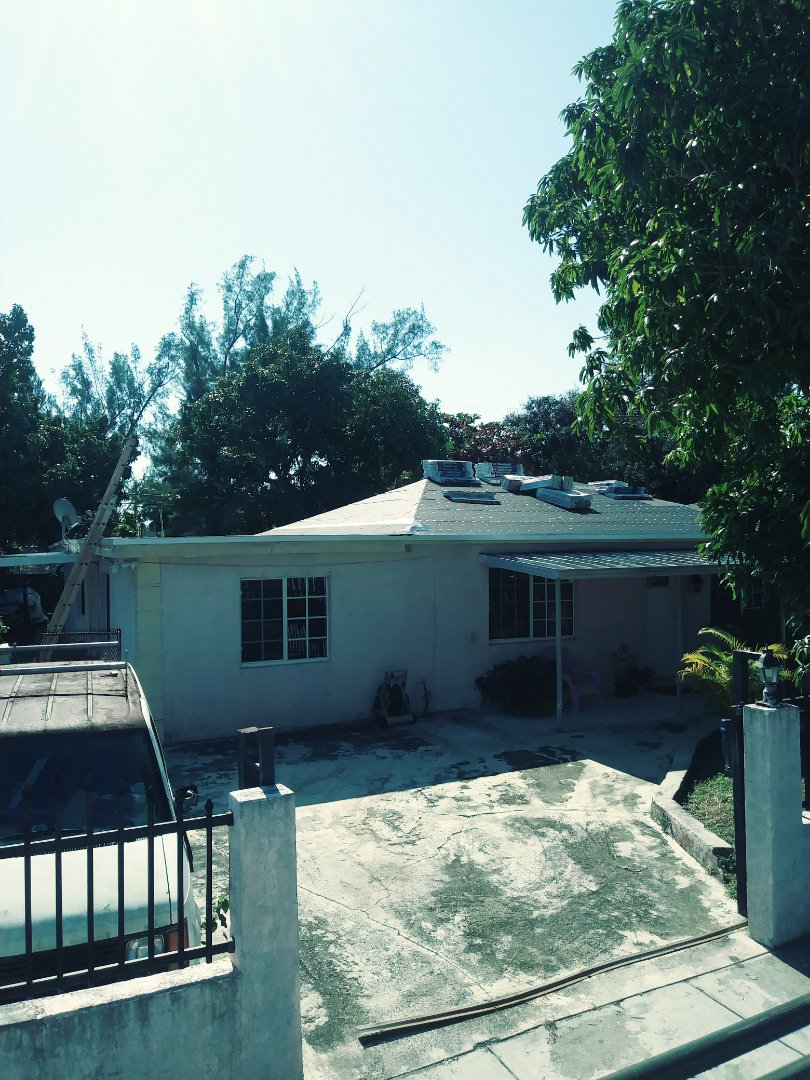 Miami, FL - Roof ready for the gaf timberline shingles to be installed by earl w Johnston roofing llc
