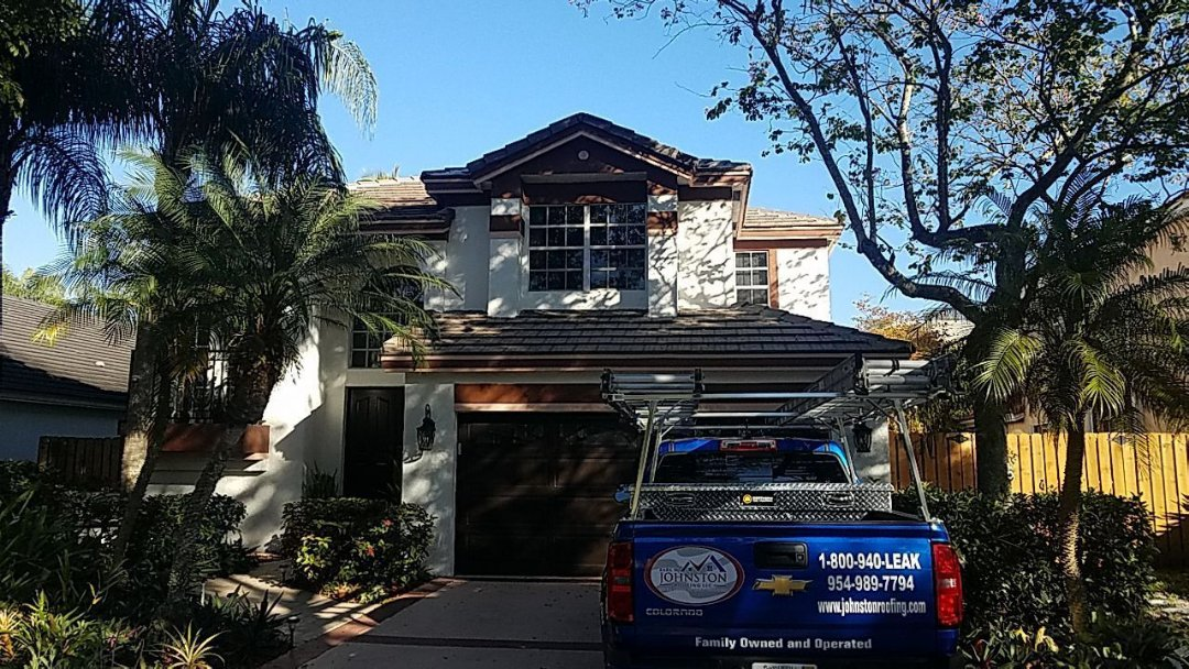 Tile roof replacement estimate in Cooper City Florida
