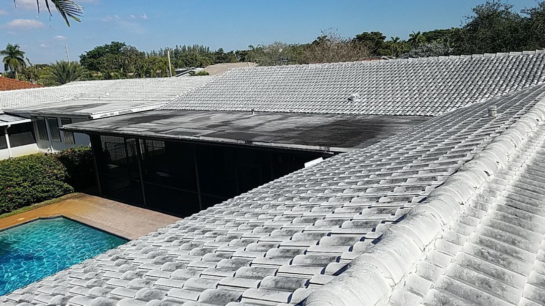 Hollywood, FL - Flat roof replacement estimate in Hollywood,FL