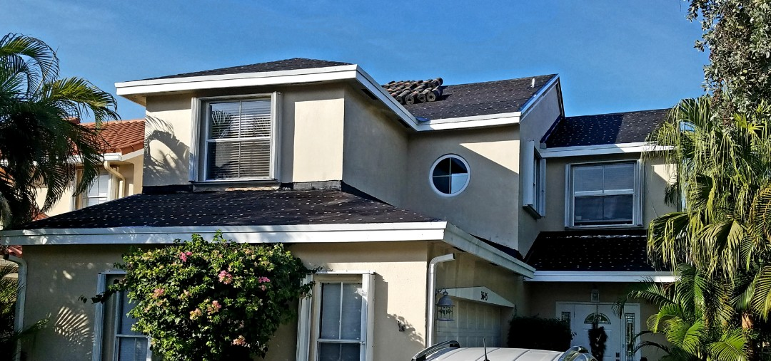 Clay tile roof replacement in Hollywood,FL