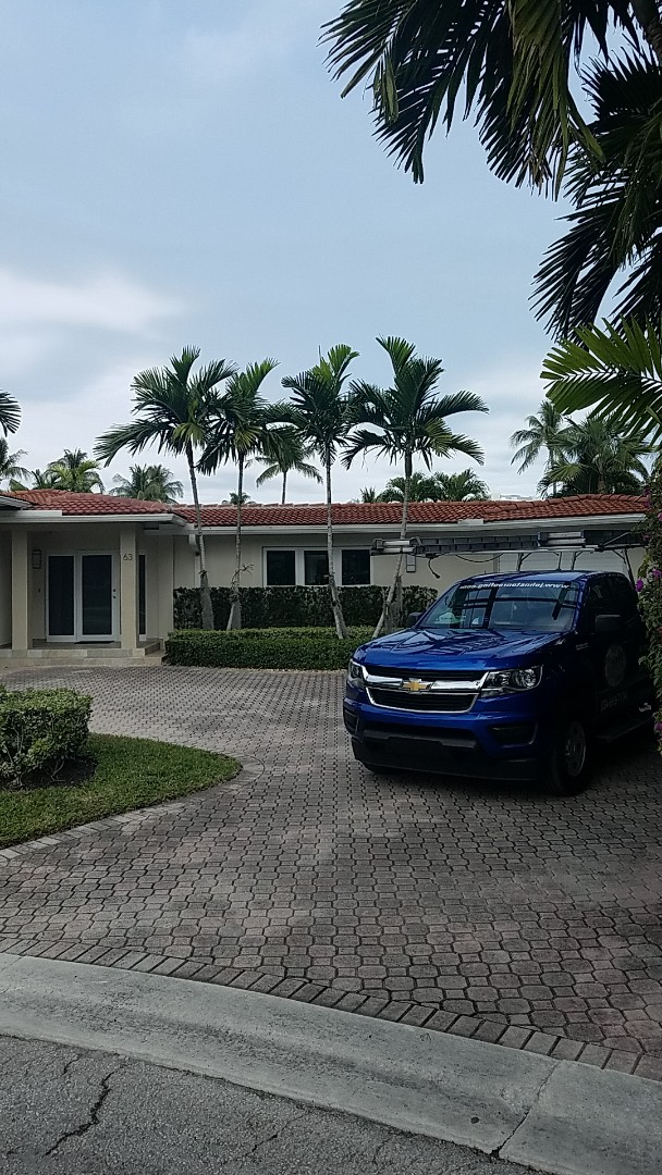 Bal Harbour, FL - Tile roof repair estimate by Earl Johnston Roofing Company