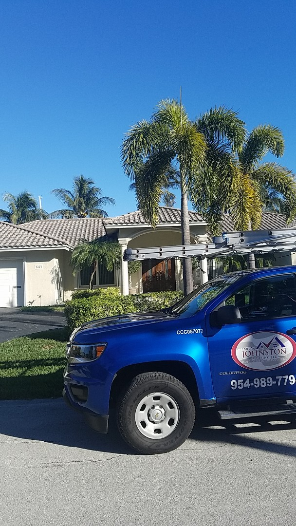 Lighthouse Point, FL - GAF mineral cap sheet flat roof replacement estimate by Earl Johnston Roofing Company