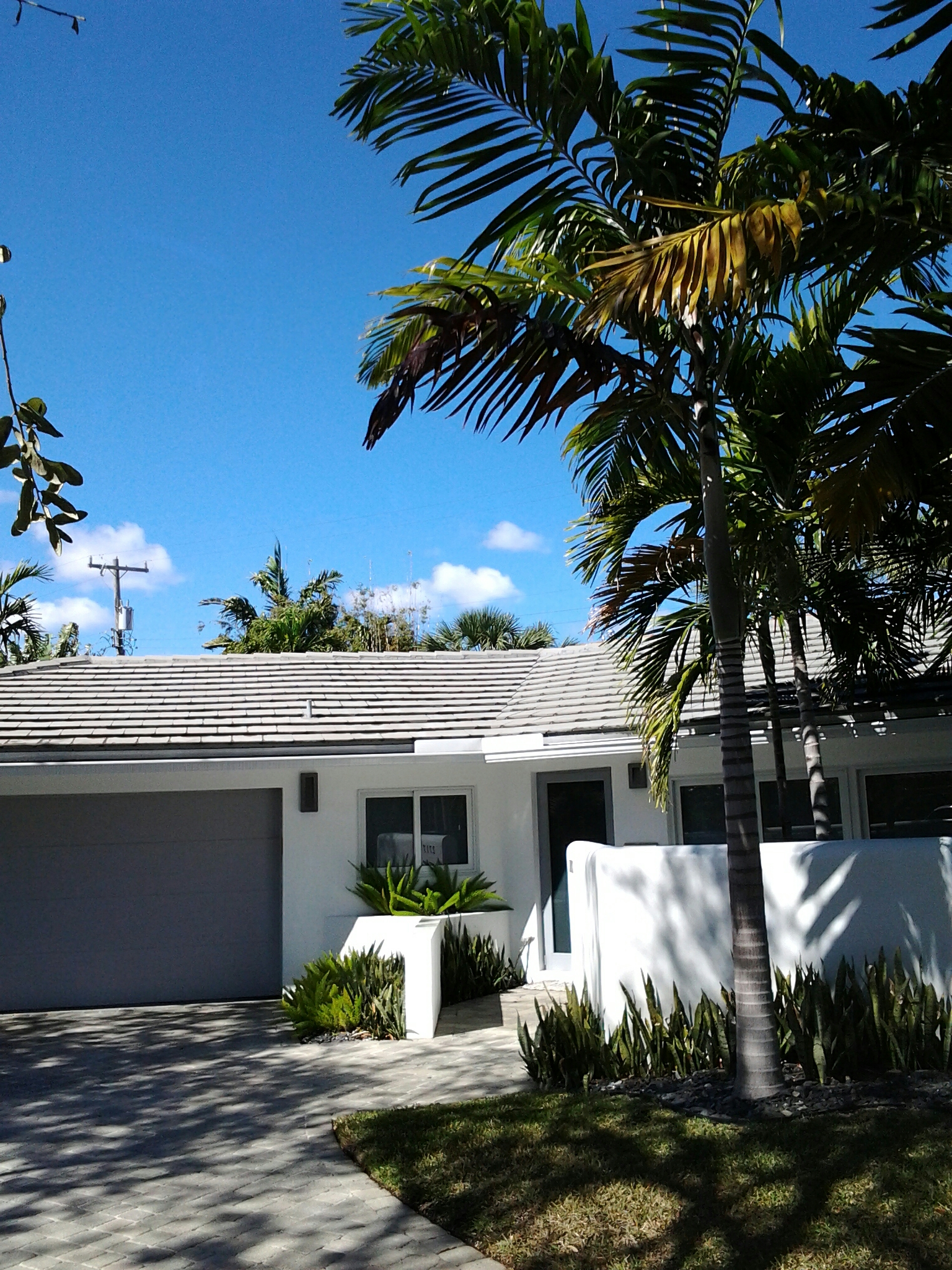 Fort Lauderdale, FL - Clean edges and roofacide roof