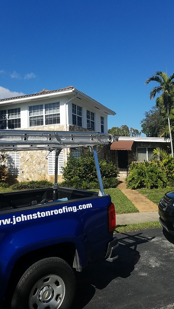 Miami Shores, FL - GAF mineral cap sheet flat roof replacement estimate by Earl Johnston Roofing Company