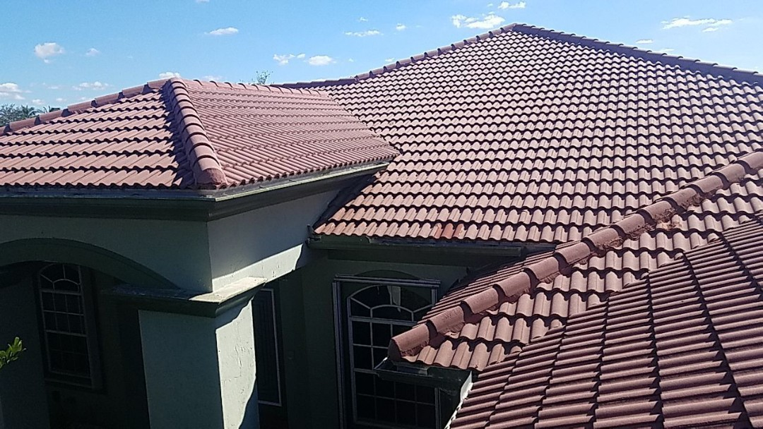 Davie, FL - Tile roof replacement estimate in Davie FL