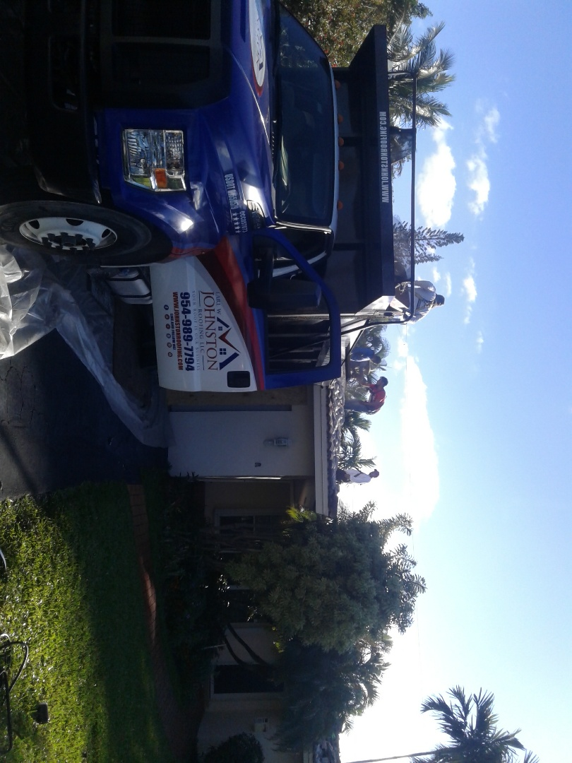Fort Lauderdale, FL - Starting a 24sq tile reroof in Oakland park, by Earl w Johnston roofing