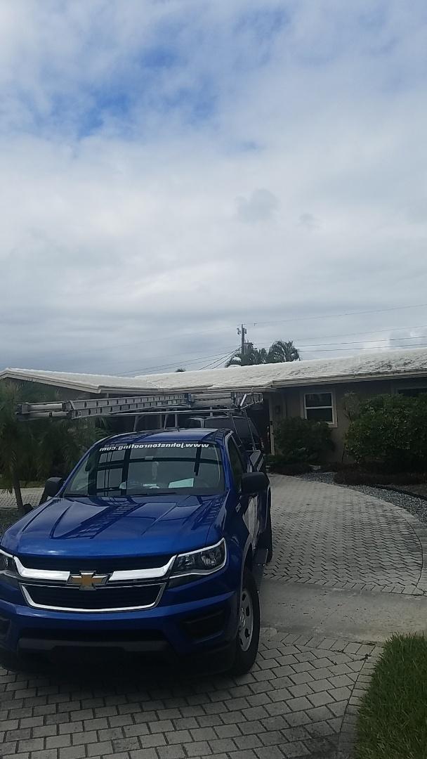 Fort Lauderdale, FL - Eagle Bel Air tiles reroof estimate by Earl Johnston Roofing Company