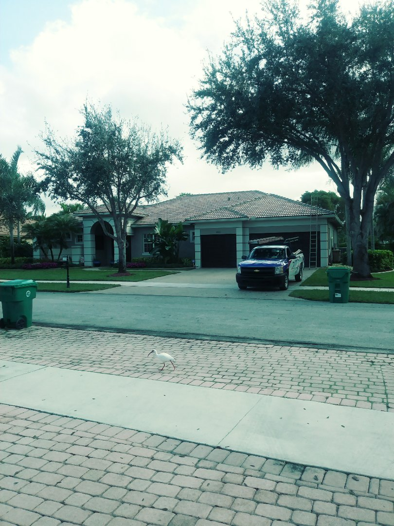 Davie, FL - Finished eagle medium profile tile roof by earl w Johnston roofing llc