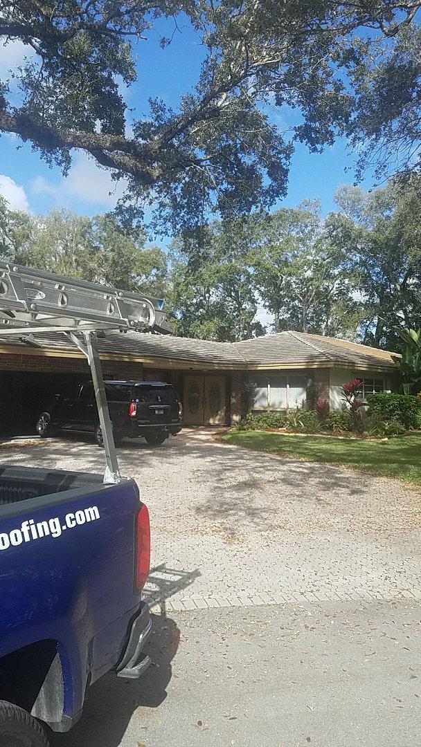 Fort Lauderdale, FL - GAF timberline HD shingles reroof estimate by Earl Johnston Roofing