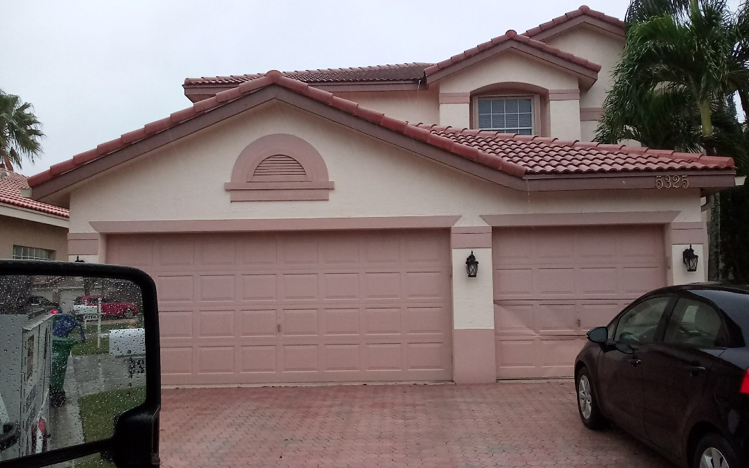 Tamarac, FL - Tile roof repair in the city of coral springs fl this repair is being done by earl w johnston roofing company jose end duane are you repair technician