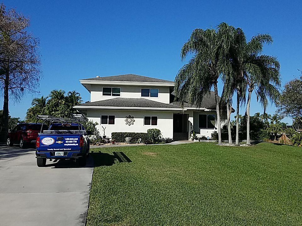 Davie, FL - Gaf shingle roof replacement estimate in Davie FL